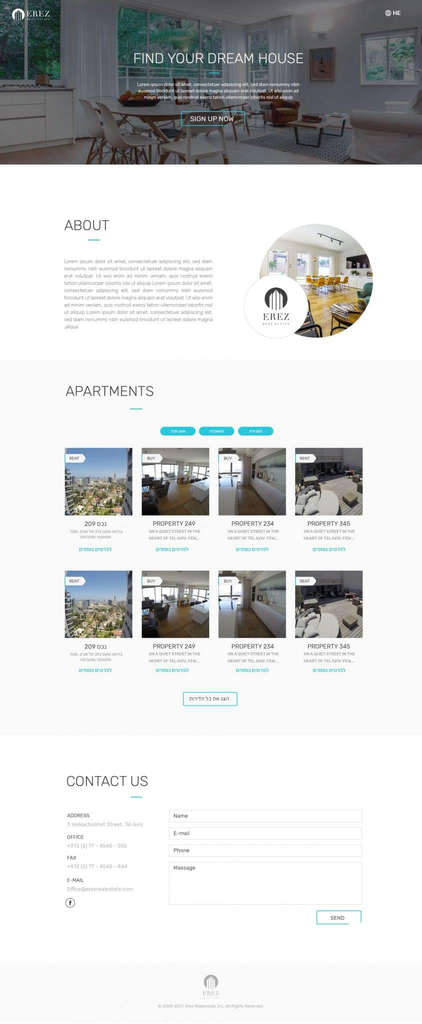 erezrealestate_website_HomePage