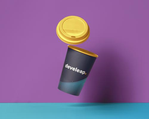 develeap Paper Hot Cup