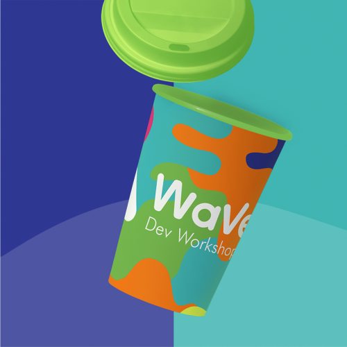 wave cup